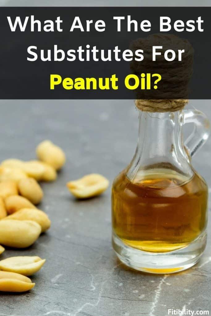 peanut oil replacement
