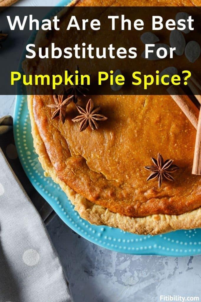 pumpkin pie spice alternative