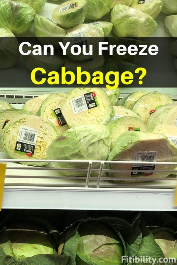 thaw frozen cabbage
