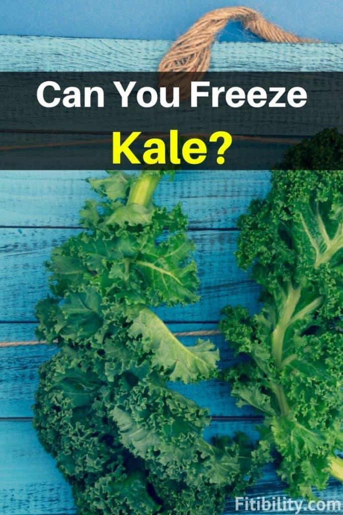 thaw frozen kale