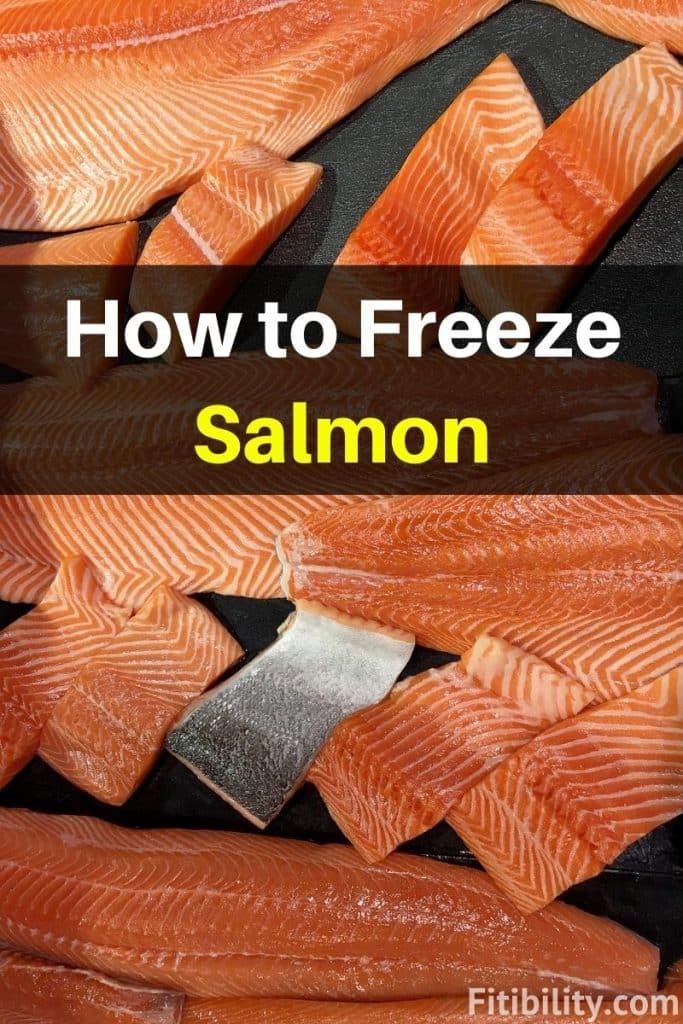 freezing salmon