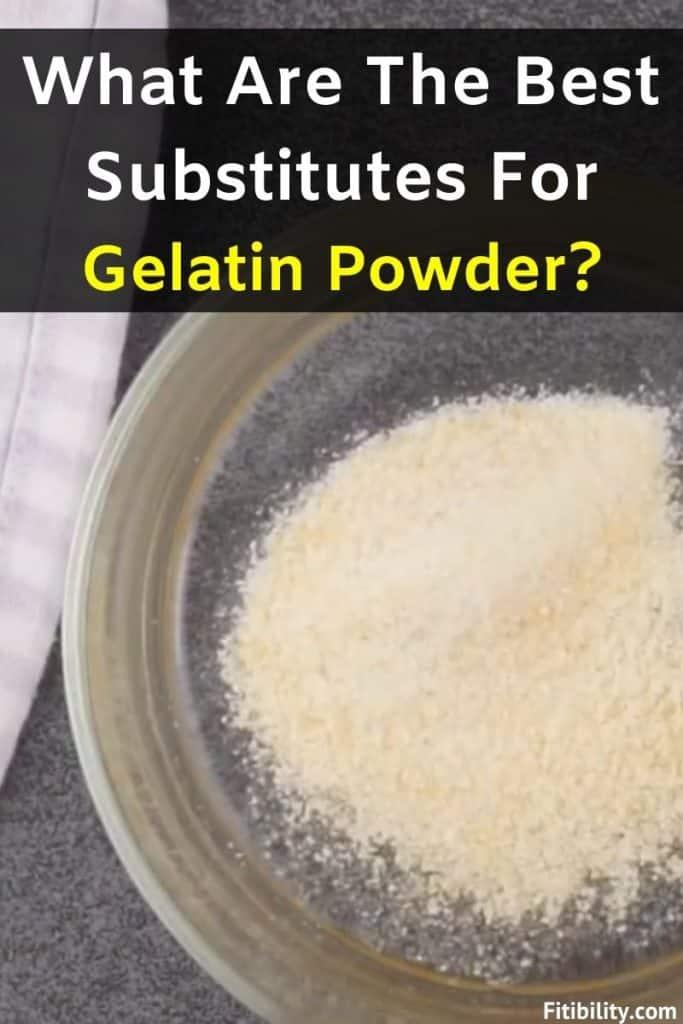 gelatin alternative