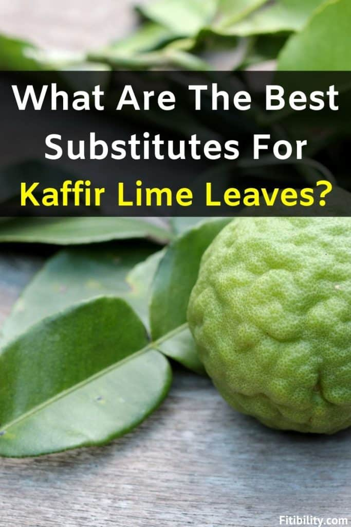 kaffir lime leaves replacement