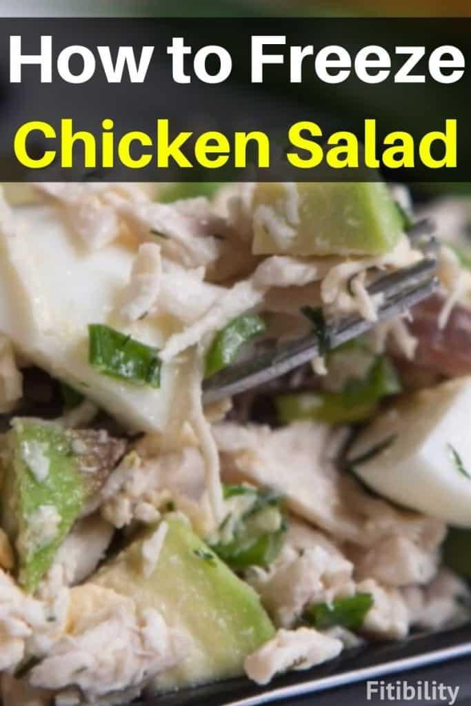 frozen chicken salad
