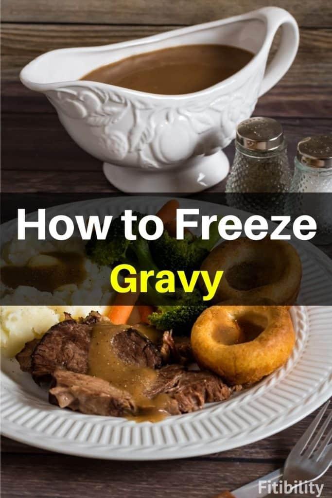 frozen gravy