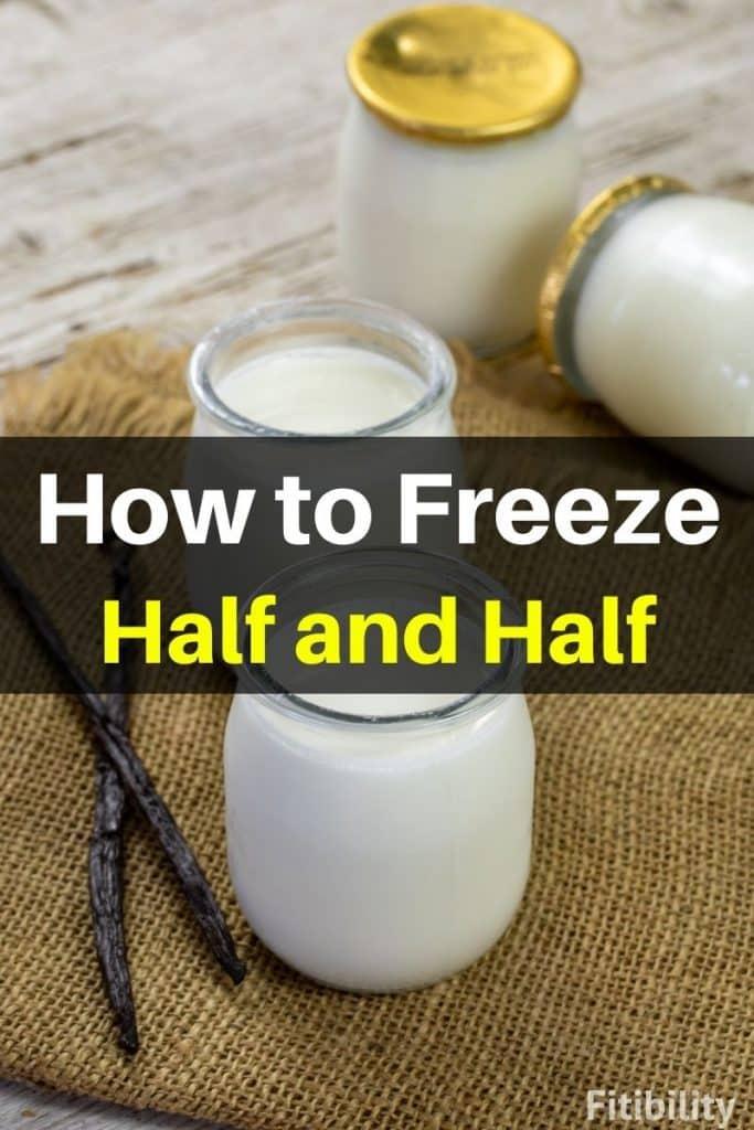 frozen half and half