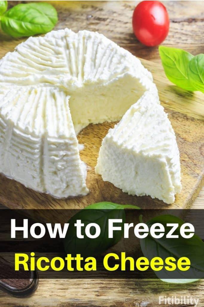 frozen ricotta cheese