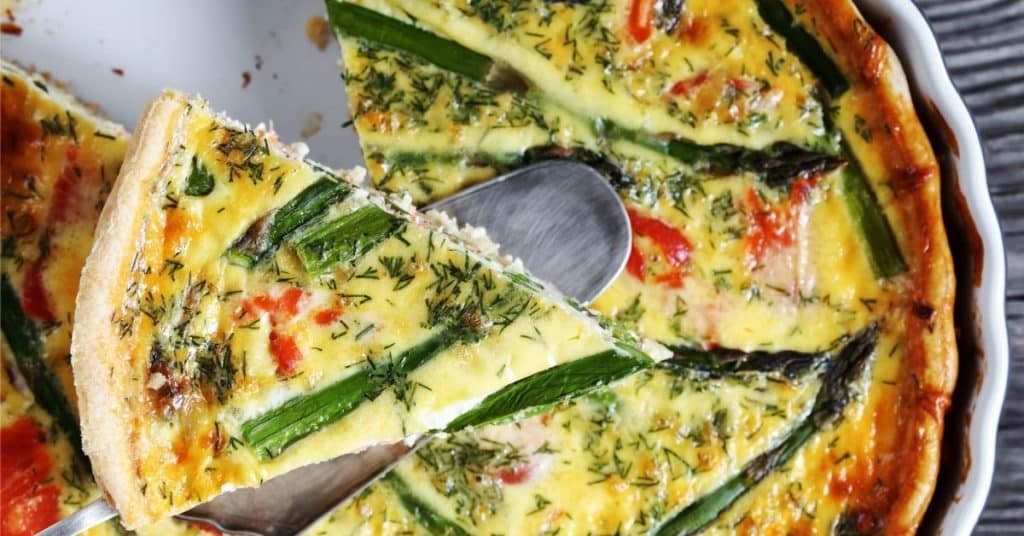 freeze quiche