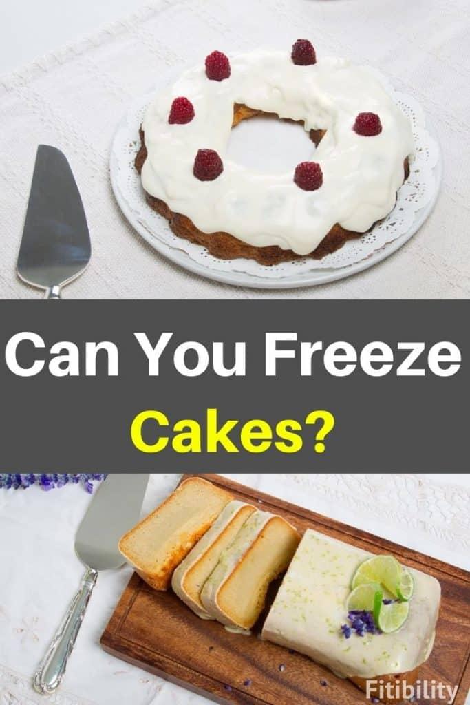 freezing cakes