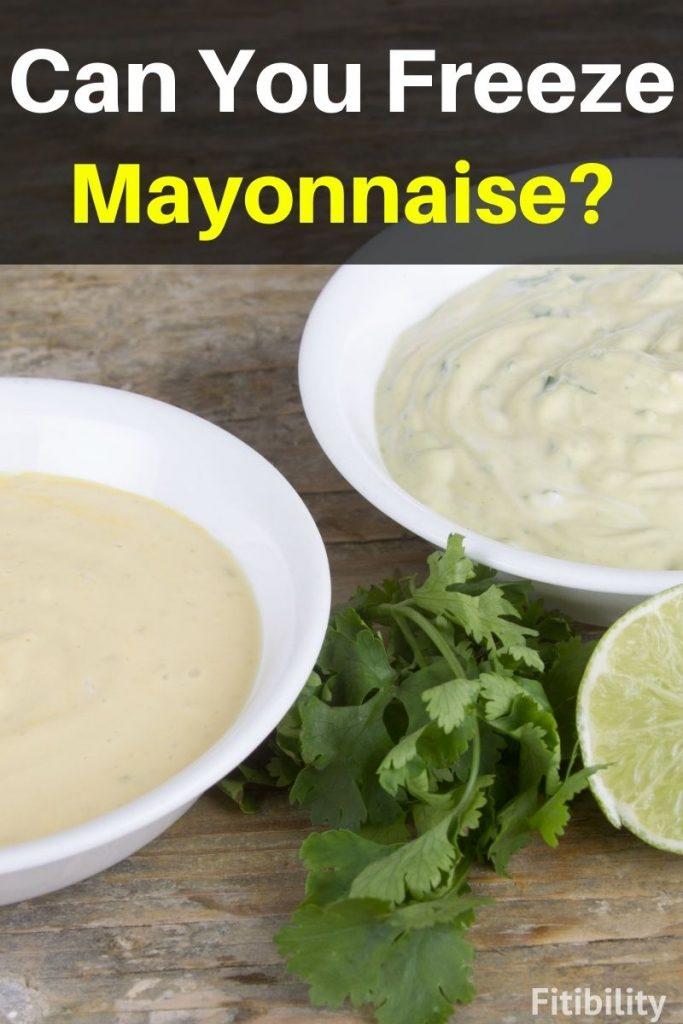 freezing mayo