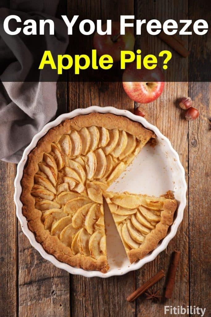 frozen apple pie
