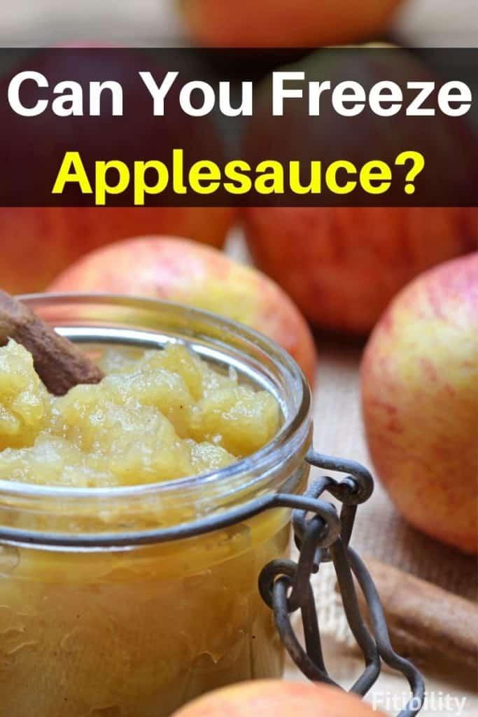 frozen applesauce