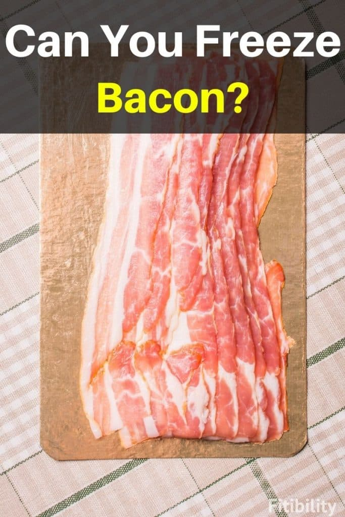 frozen bacon
