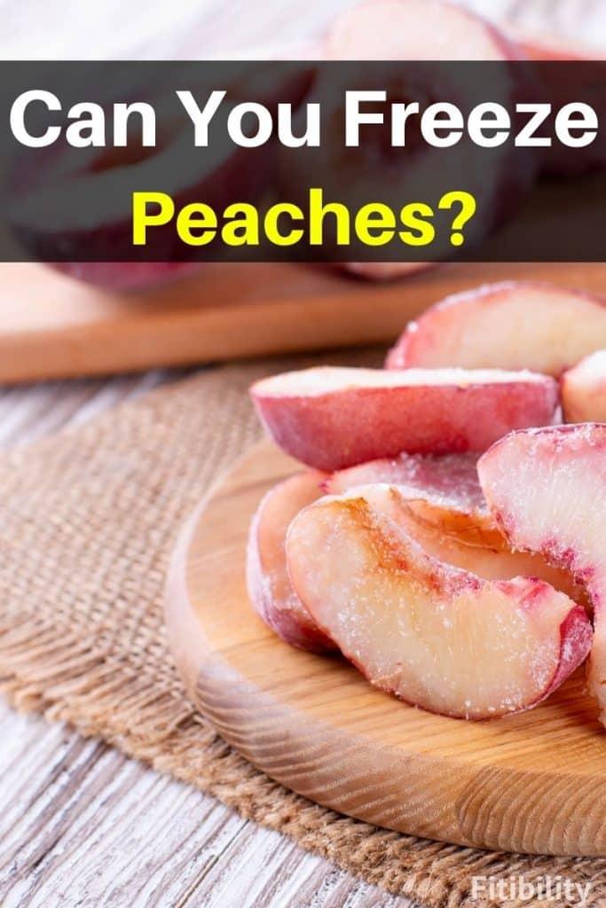 frozen peaches