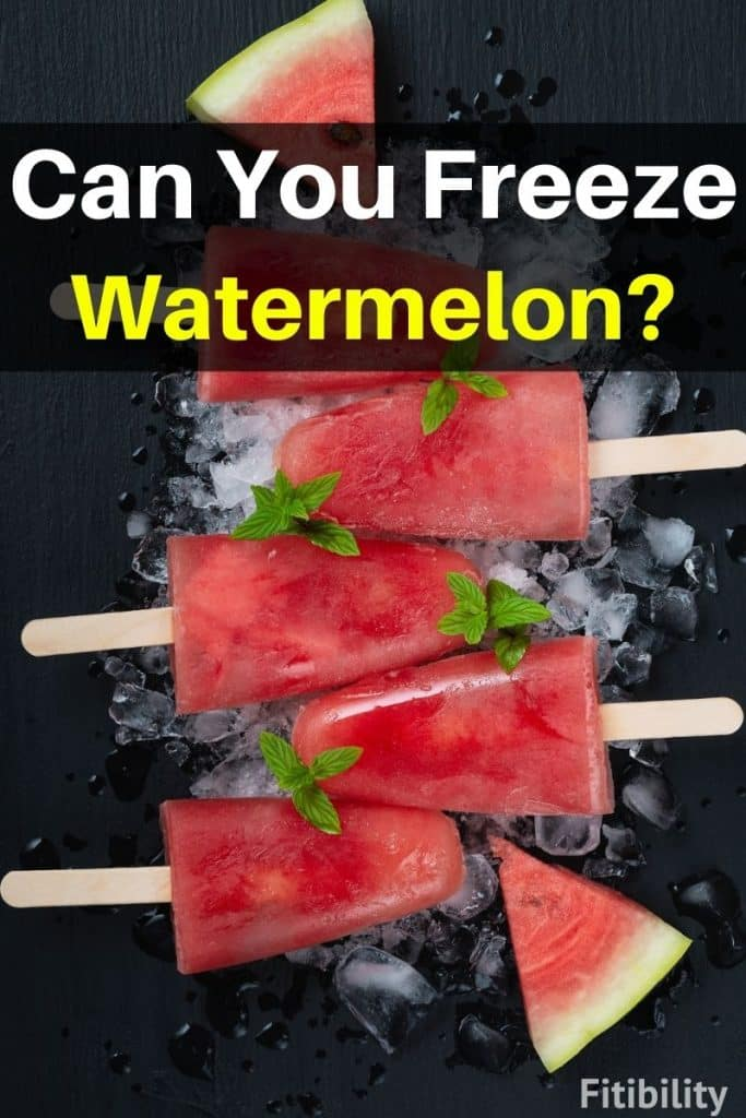 frozen watermelon