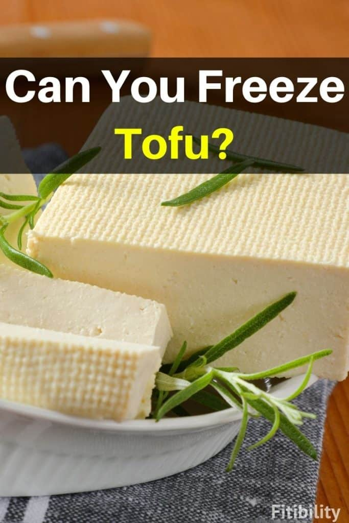 thaw frozen tofu