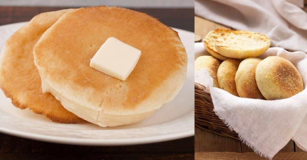 crumpet vs english muffin