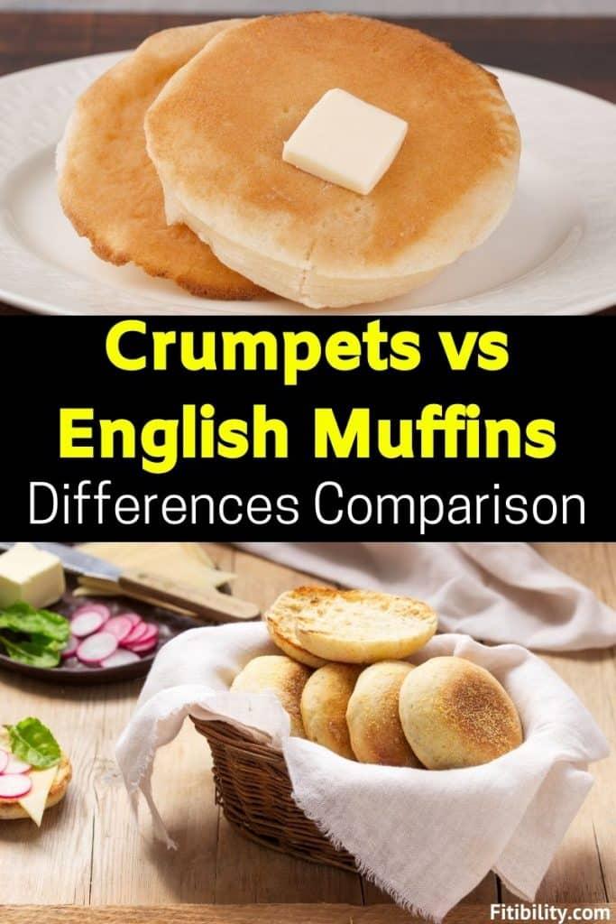 english muffins vs crumpets