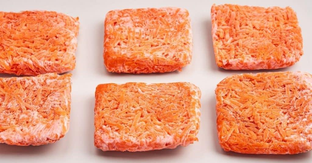 freeze carrots