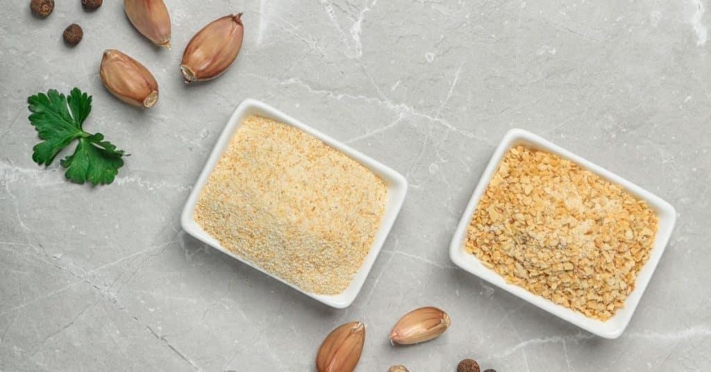 granulated garlic vs garlic powder