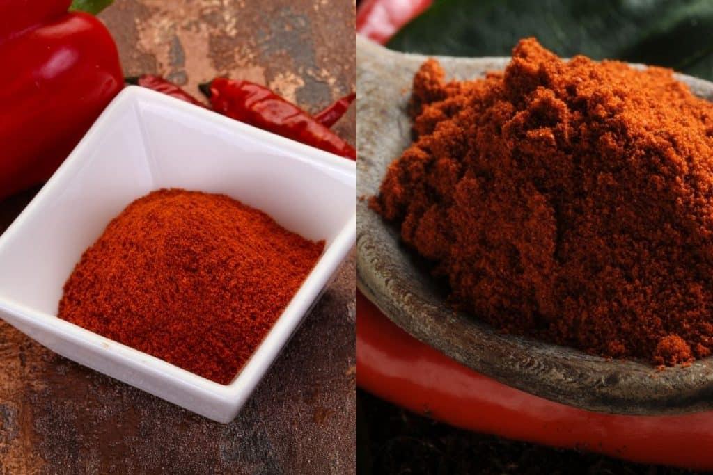 Paprika vs Cayenne