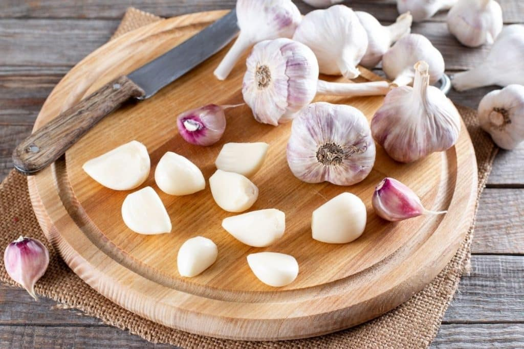 freeze garlic cloves