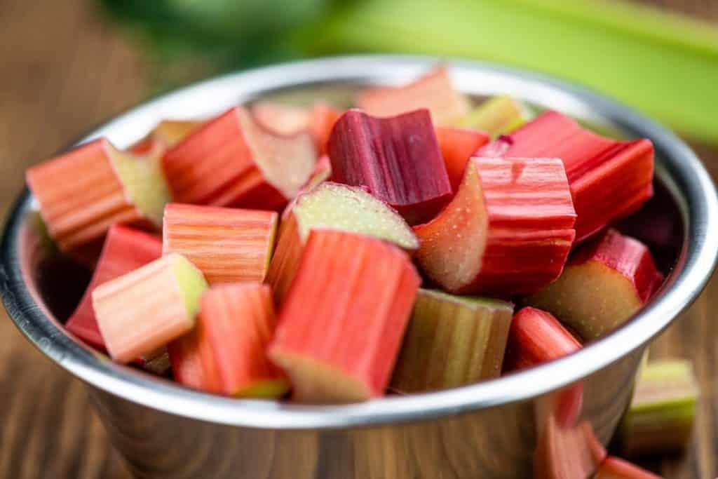 Freeze Rhubarb